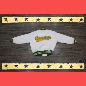 "Vintage ""CARPENTERS"" Varsity Jacket"